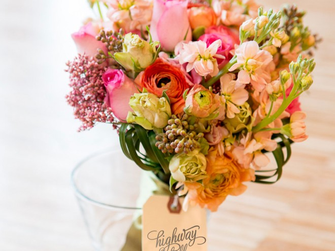 Styled shoot at Living Social