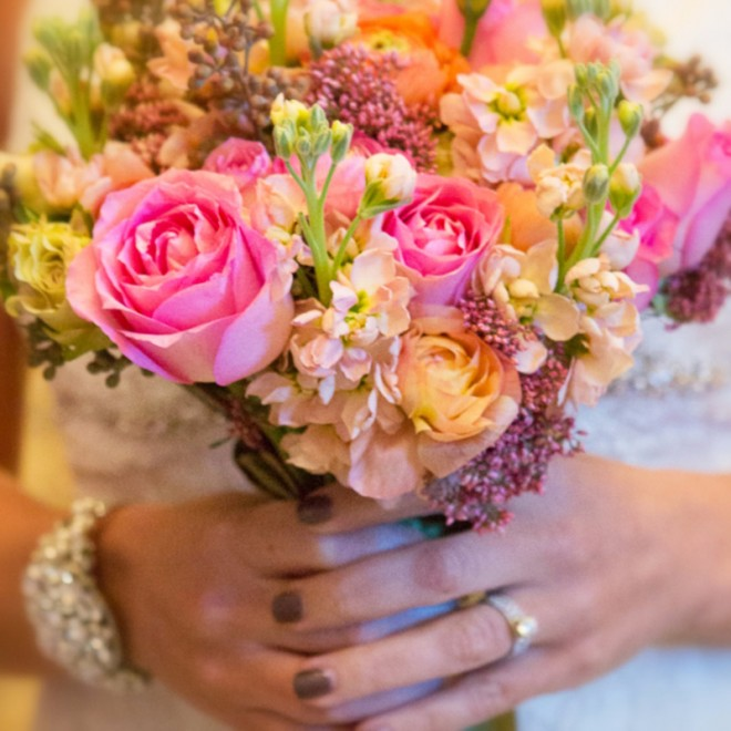 Close-up of a bouquet