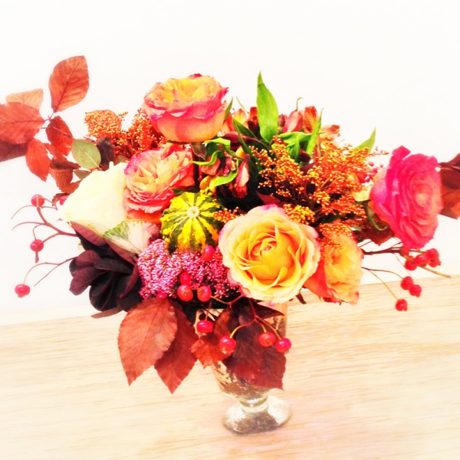 A student arrangement from our Fall class