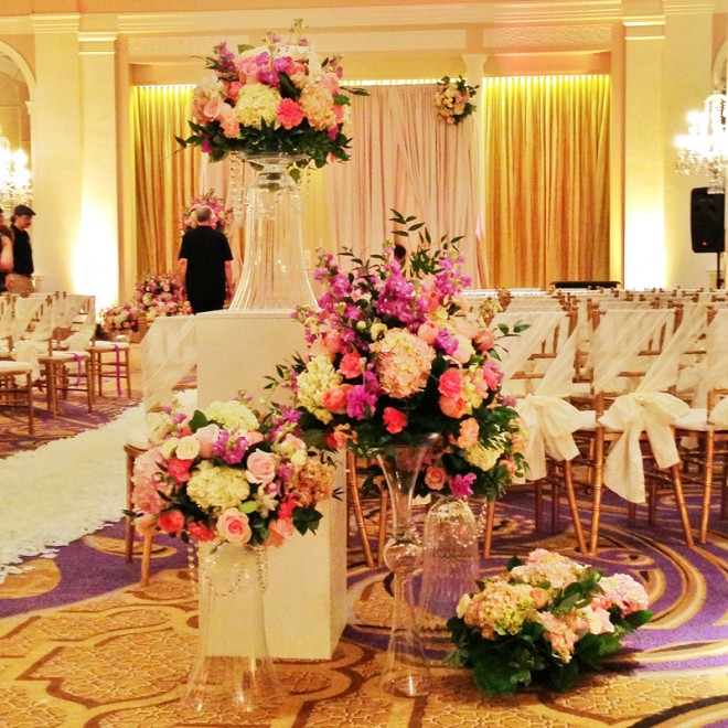 Mayflower Hotel ceremony