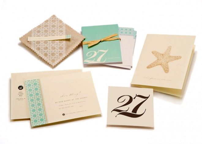 Stationery Set for NJ Beach Cottage
