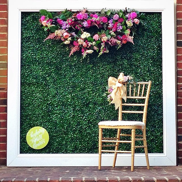 I found an image of our Instagram backdrop from the #dazzlingdetails wedding bazaar last night on David Tutera's @itsabrideslife blog, and I can't wait to use it for our next event at #longviewgallery ! #tbt